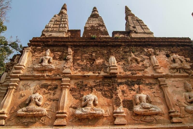 τοίχος αγαλμάτων του Βού& στοκ εικόνες