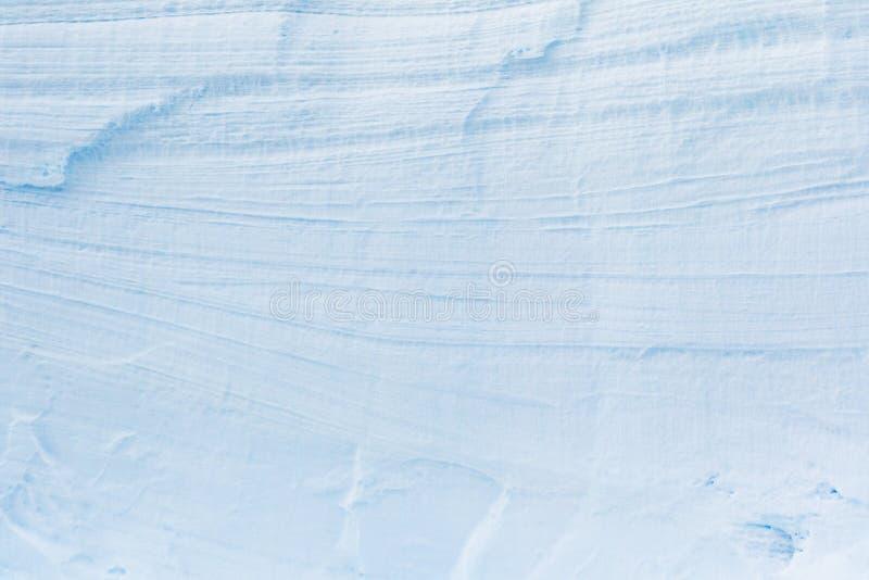 Τοίχος από τον ανταρκτικούς πάγο και το χιόνι στοκ εικόνα με δικαίωμα ελεύθερης χρήσης