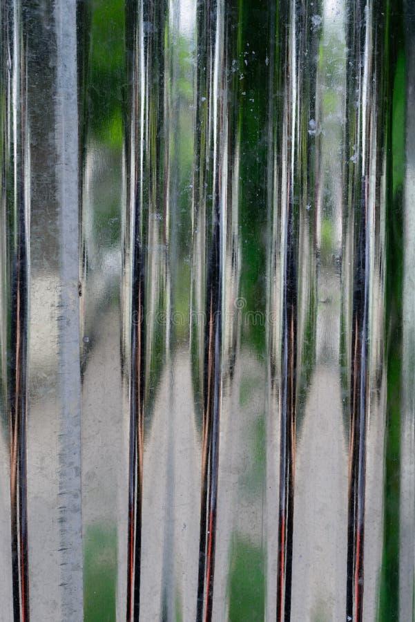 Τοίχος αλουμινίου στοκ φωτογραφίες με δικαίωμα ελεύθερης χρήσης