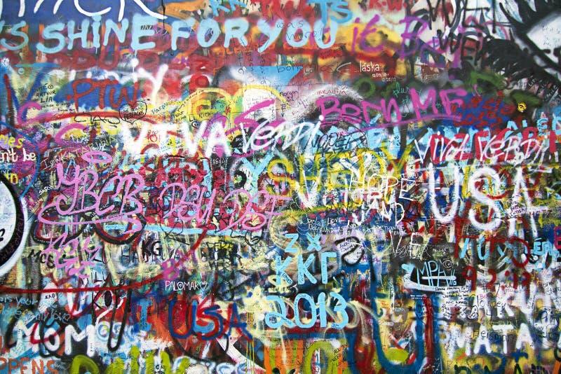 Τοίχος γκράφιτι απεικόνιση αποθεμάτων