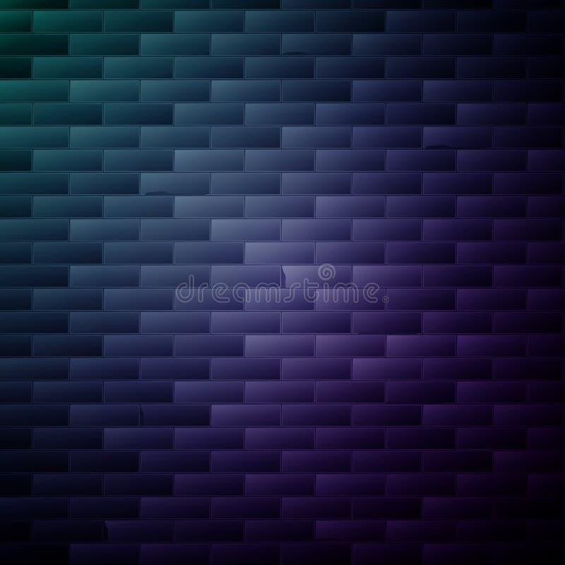 τοίχος εικόνας τούβλου ανασκόπησης rastre διανυσματική απεικόνιση