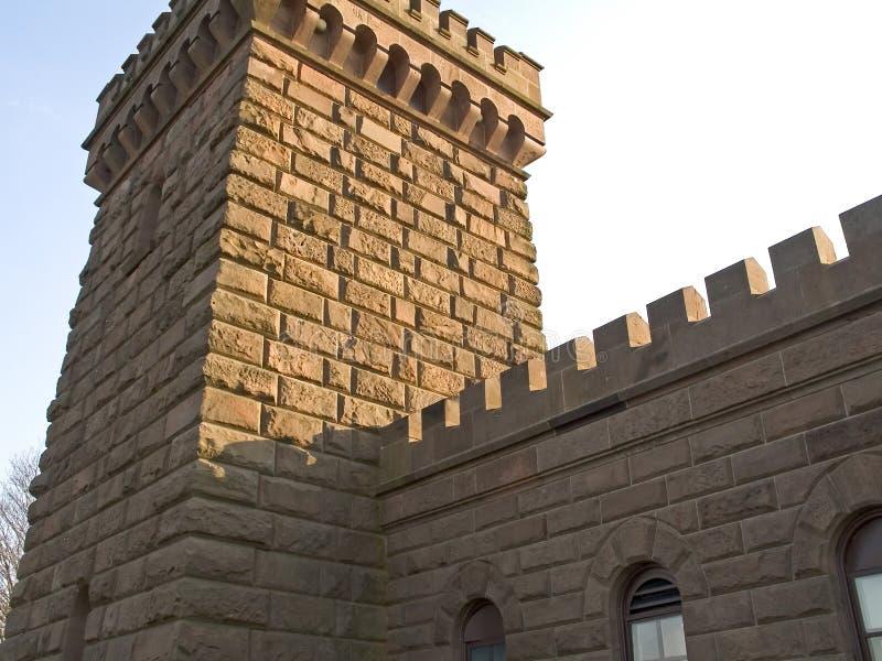 Download τοίχος κάστρων στοκ εικόνα. εικόνα από ιστορικός, σύσταση - 108275