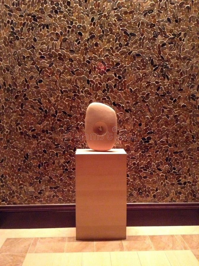 Τοίχος και διακοσμητική αφηρημένη τέχνη μέσα στο θέρετρο κολπίσκου καπό Hilton Ορλάντο στη Φλώριδα στοκ φωτογραφίες με δικαίωμα ελεύθερης χρήσης