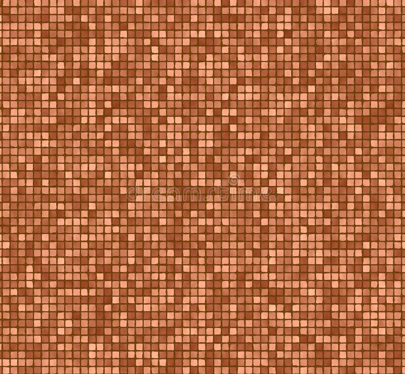 τοίχος κεραμιδιών διανυσματική απεικόνιση