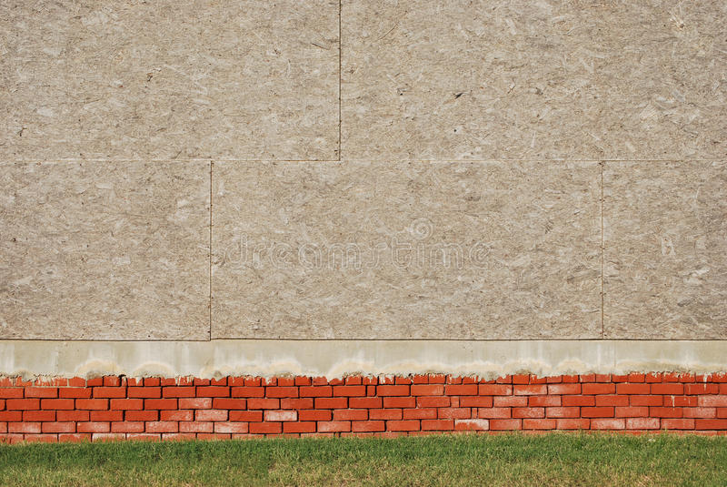 τοίχος κοντραπλακέ τούβ&lambd στοκ εικόνες με δικαίωμα ελεύθερης χρήσης