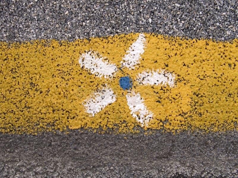 τοίχος λουλουδιών στοκ φωτογραφία με δικαίωμα ελεύθερης χρήσης
