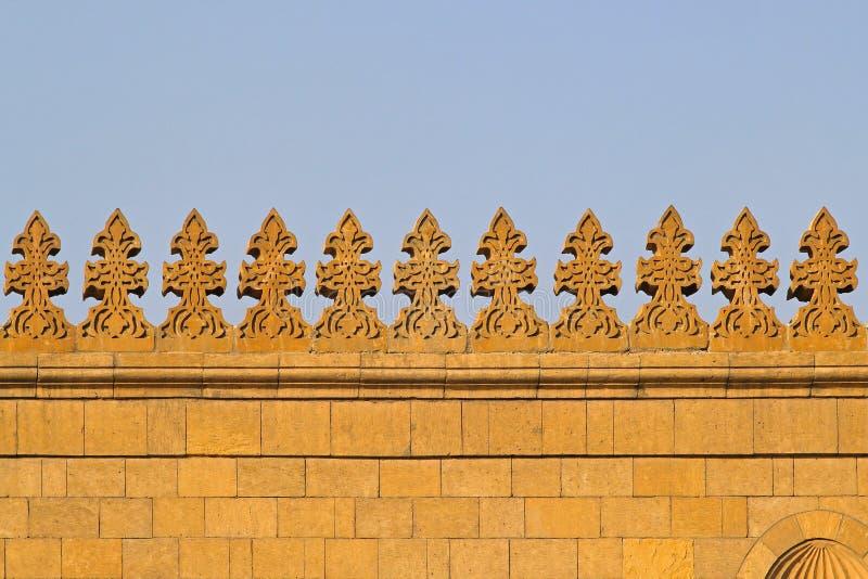 Τοίχος μουσουλμανικών τεμενών στοκ εικόνα