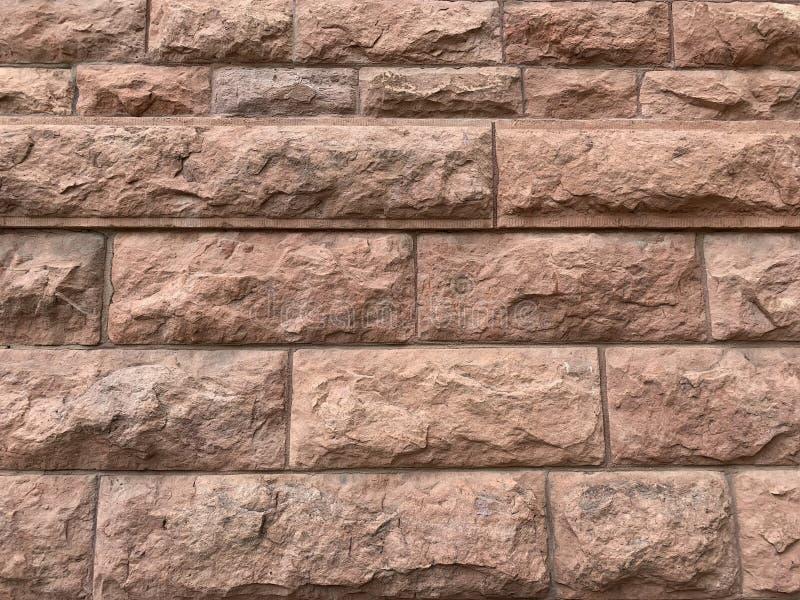 Τοίχος μπλοκ από ψαμμίτη στοκ εικόνες με δικαίωμα ελεύθερης χρήσης
