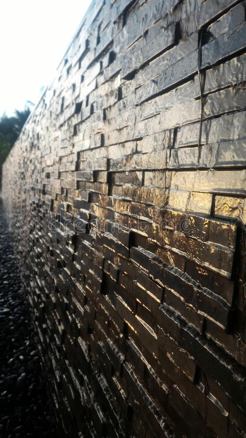 Τοίχος νερού στοκ εικόνα