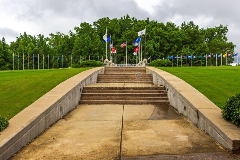 Τοίχος παλαιμάχου της τιμής σε McDonough, GA στοκ φωτογραφίες με δικαίωμα ελεύθερης χρήσης