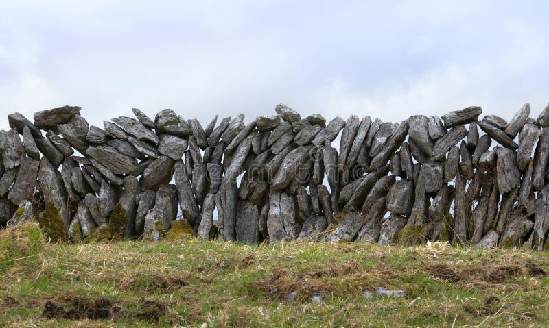 τοίχος πετρών της Ιρλανδία στοκ φωτογραφίες