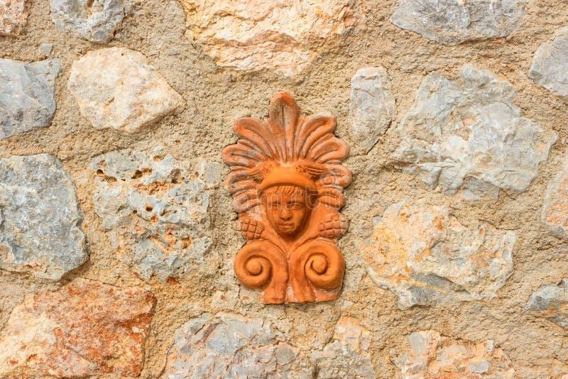 τοίχος πετρών φραγών λεπτ&omicro στοκ εικόνες με δικαίωμα ελεύθερης χρήσης