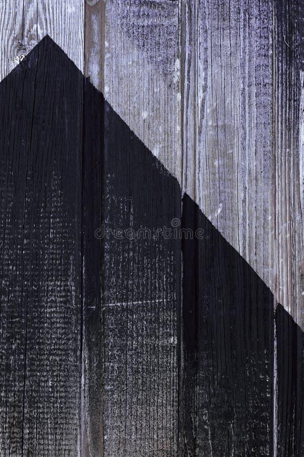 Τοίχος που χρωματίζεται ξύλινος στο Μαύρο Shabby ξύλινη σύσταση Παλαιοί ξεπερασμένοι πίνακες o στοκ εικόνες