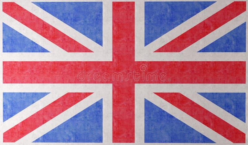 τοίχος σημαιών της Αγγλία& απεικόνιση αποθεμάτων