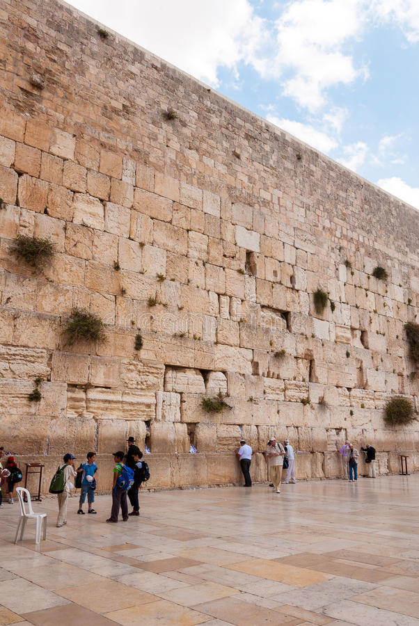 τοίχος του Ισραήλ Ιερο&ups στοκ εικόνα