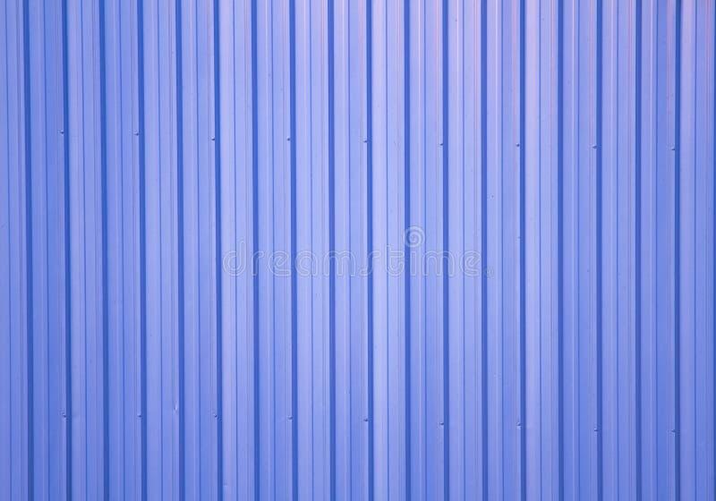Τοίχος του μετάλλου φύλλων στοκ φωτογραφία