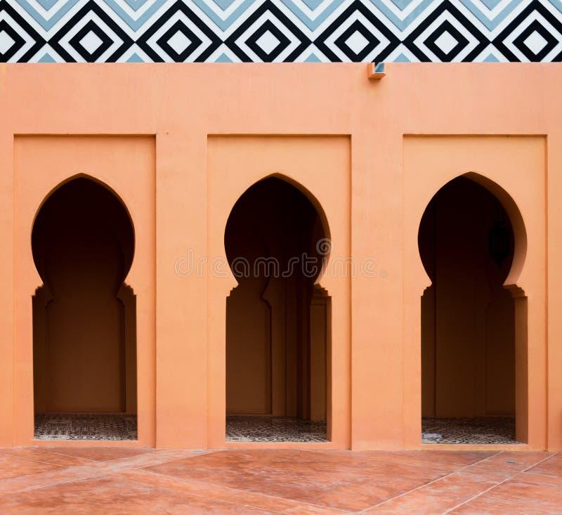 Τοίχος του μουσουλμανικού τεμένους στοκ φωτογραφίες