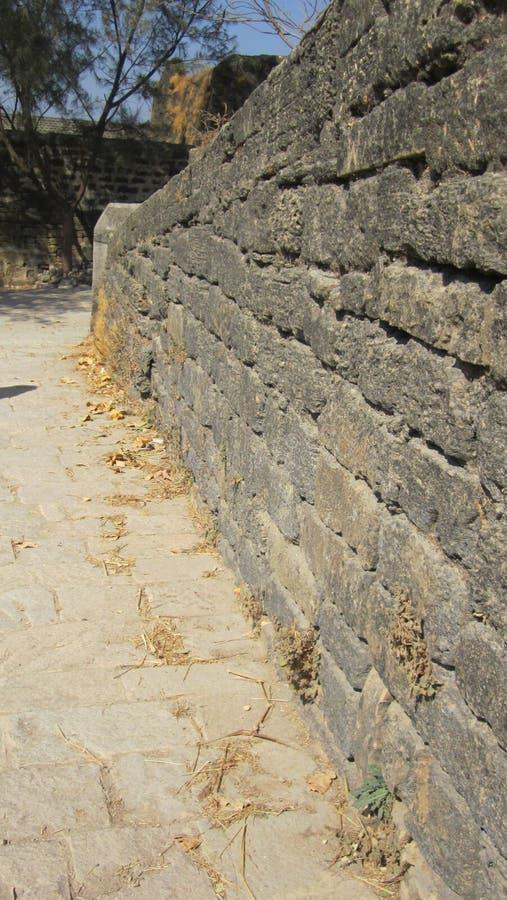 Τοίχος του οχυρού στοκ εικόνες