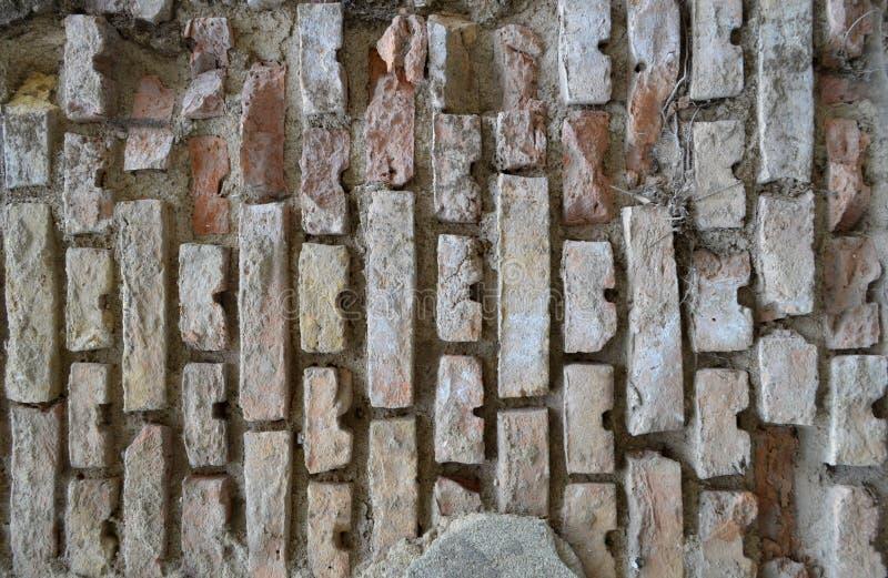 Τοίχος του παλαιού τούβλου στοκ φωτογραφία
