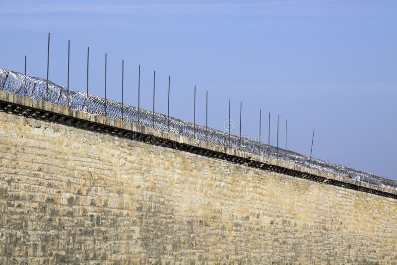 τοίχος φυλακών στοκ εικόνα με δικαίωμα ελεύθερης χρήσης