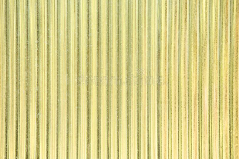 Τοίχος φύλλων ψευδάργυρου ή ζαρωμένα σύσταση και υπόβαθρο τοίχων στοκ φωτογραφίες με δικαίωμα ελεύθερης χρήσης