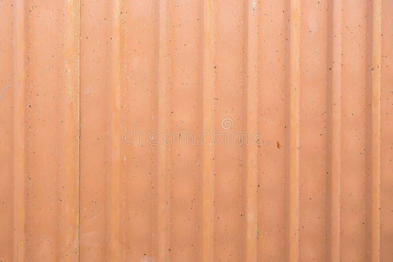 Τοίχος φύλλων ψευδάργυρου ή ζαρωμένος τοίχος στοκ φωτογραφία με δικαίωμα ελεύθερης χρήσης