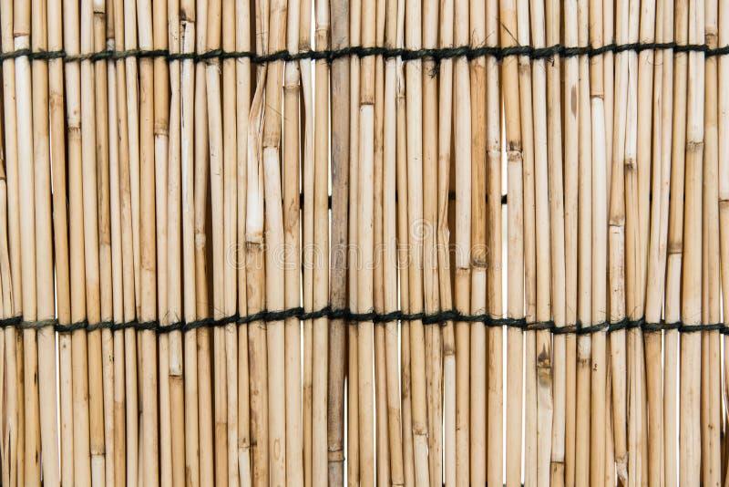 τοίχος χρήσης μπαμπού ανασκόπησης στοκ φωτογραφίες