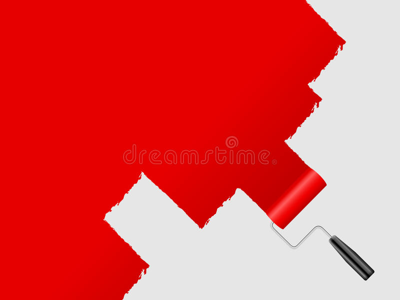τοίχος χρωμάτων απεικόνιση αποθεμάτων