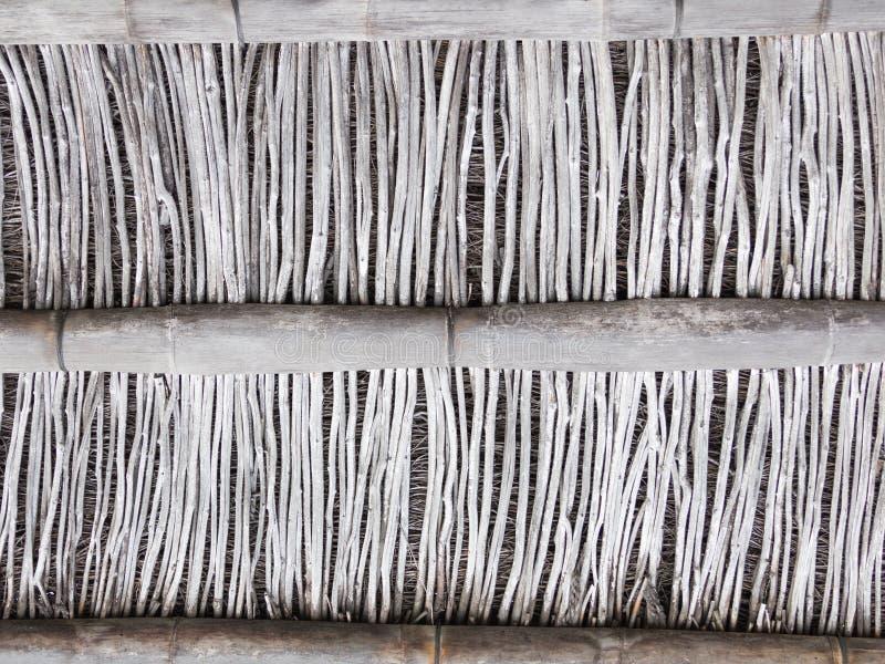 Τοίχος χωρισμάτων φιαγμένος από μπαμπού στοκ φωτογραφία με δικαίωμα ελεύθερης χρήσης