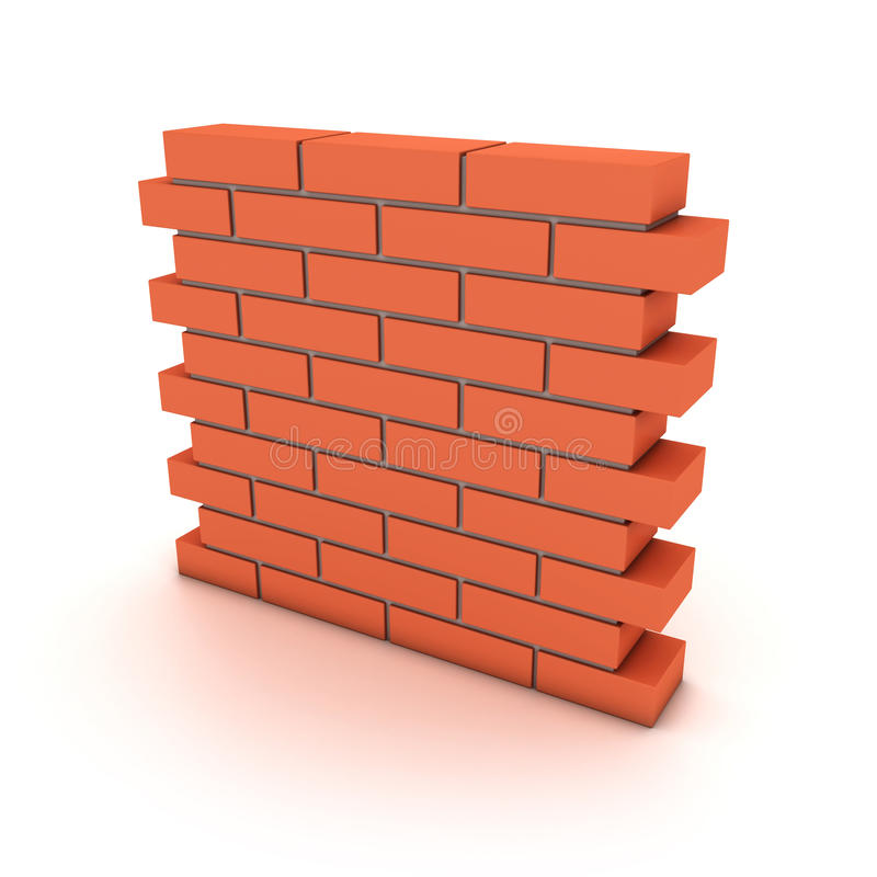 τοίχος ελεύθερη απεικόνιση δικαιώματος