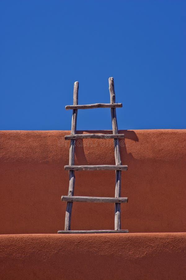 τοίχος santa σκαλών Φε πλίθας στοκ φωτογραφία