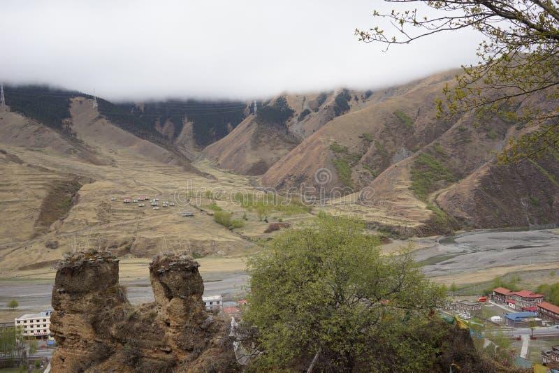 Τομέας βουνών στοκ εικόνα