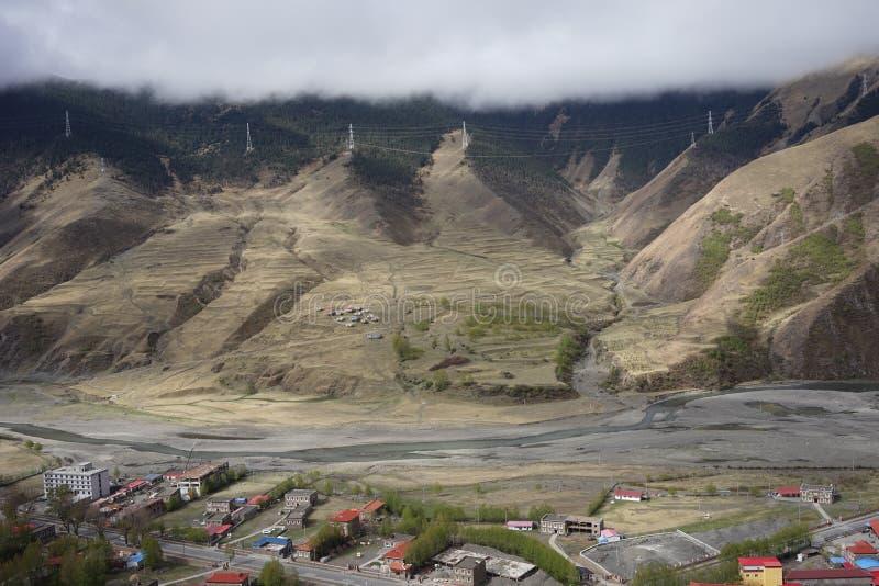 Τομέας βουνών στοκ φωτογραφία