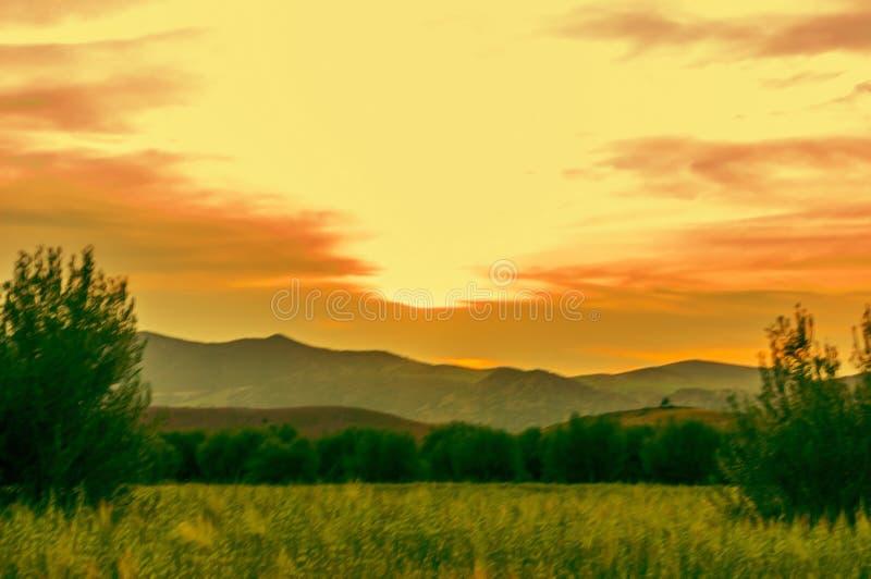 Τομέας ηλιοβασιλέματος στοκ εικόνες με δικαίωμα ελεύθερης χρήσης