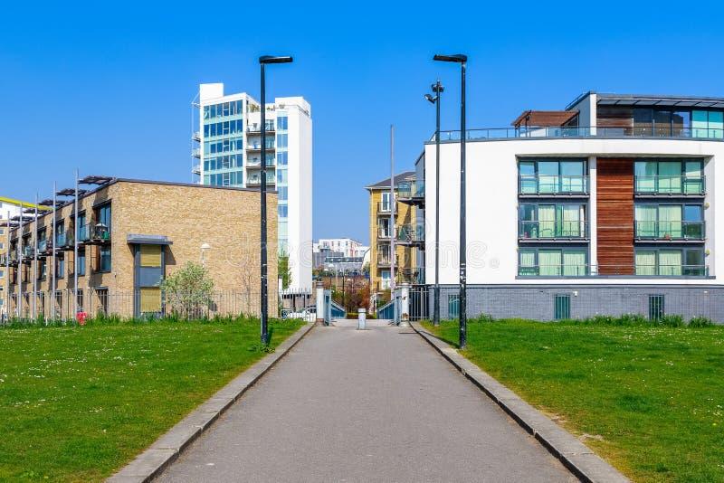 Τομέας Ropemakers, Limehouse, Λονδίνο στοκ εικόνα