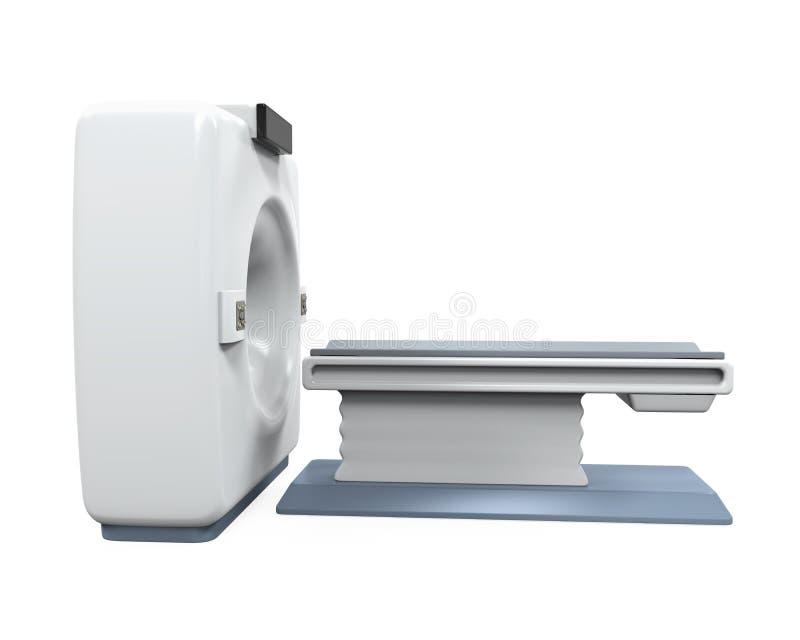 Τομογραφία ανιχνευτών CT διανυσματική απεικόνιση
