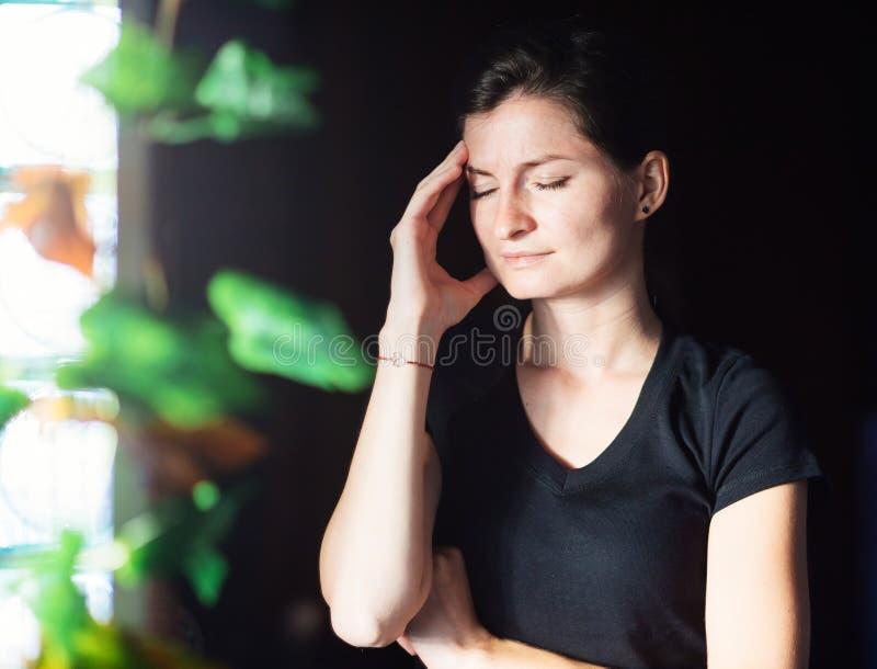 τονισμένη γυναίκα στοκ φωτογραφίες με δικαίωμα ελεύθερης χρήσης