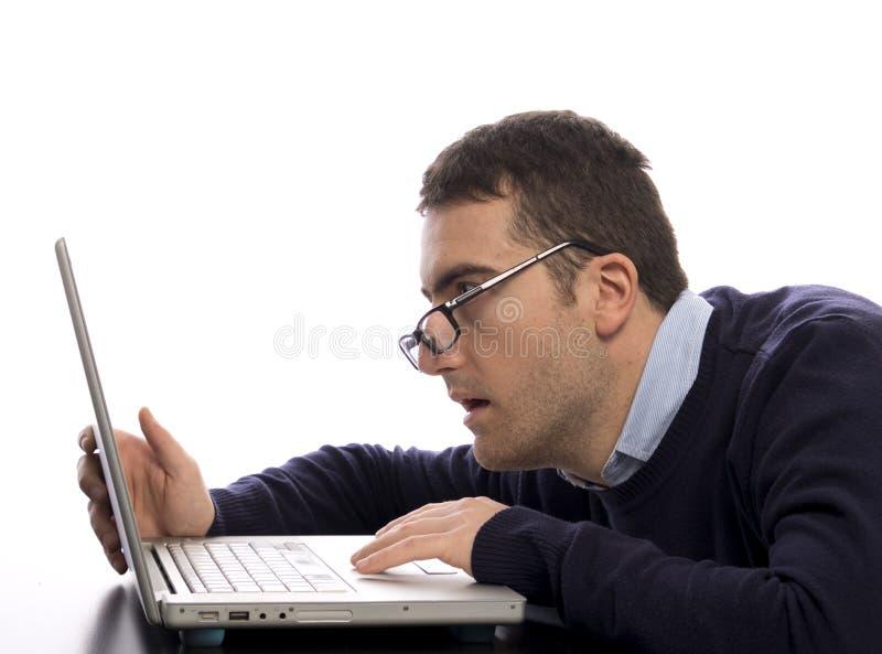 Τονισμένος comuter εργαζόμενος στοκ φωτογραφία με δικαίωμα ελεύθερης χρήσης
