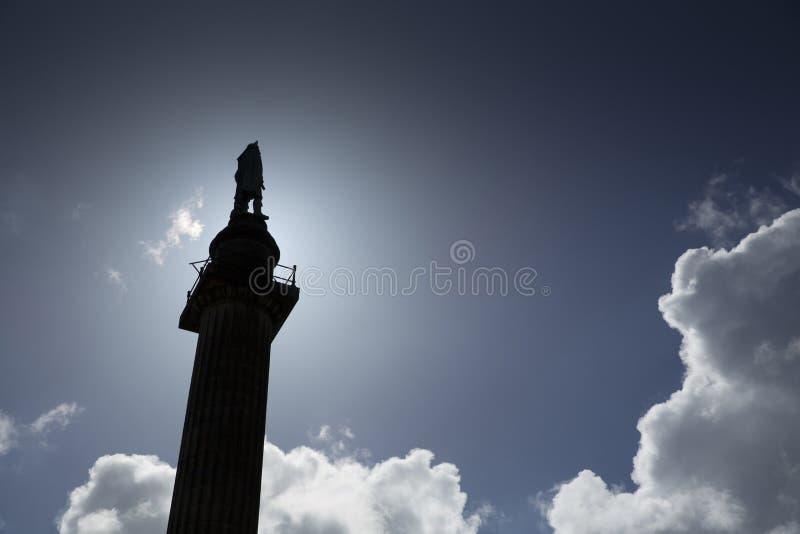 E Τον Ιούνιο του 2014, άγαλμα που αφιερώνεται στο δούκα του Ουέλλινγκτον με το άγαλμα στοκ εικόνες