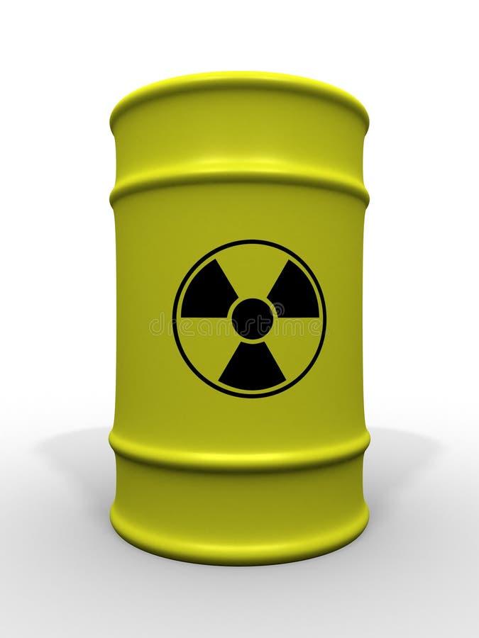 τοξικά απόβλητα βαρελιών απεικόνιση αποθεμάτων