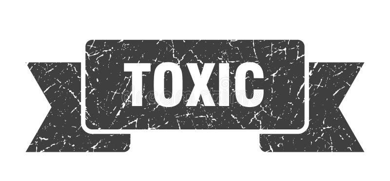 τοξική κορδέλλα ελεύθερη απεικόνιση δικαιώματος