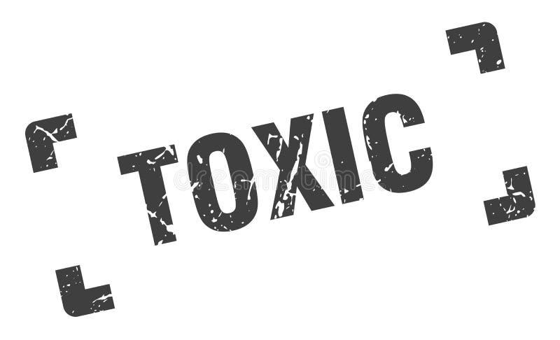 τοξικό γραμματόσημο απεικόνιση αποθεμάτων