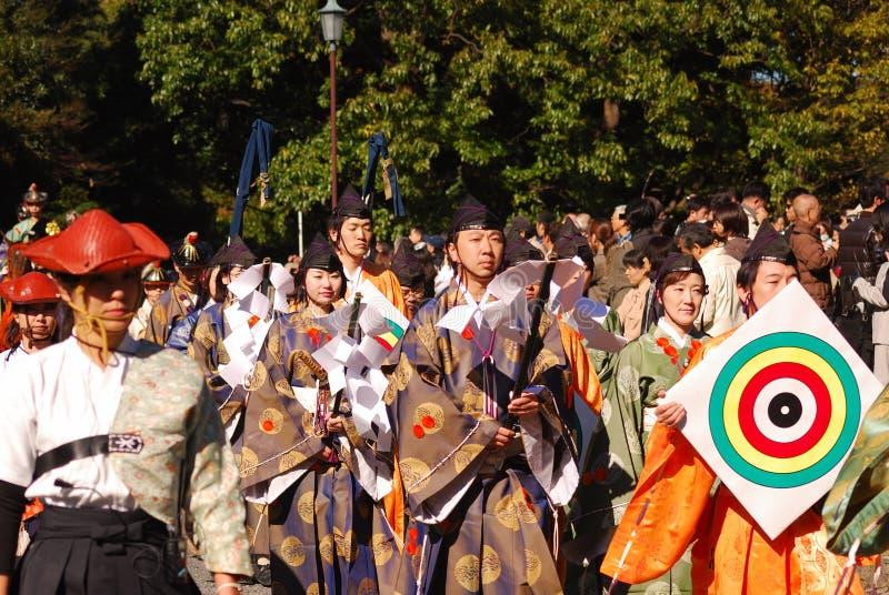 τοξότες Ιαπωνία ιαπωνικό Τό&k στοκ εικόνα