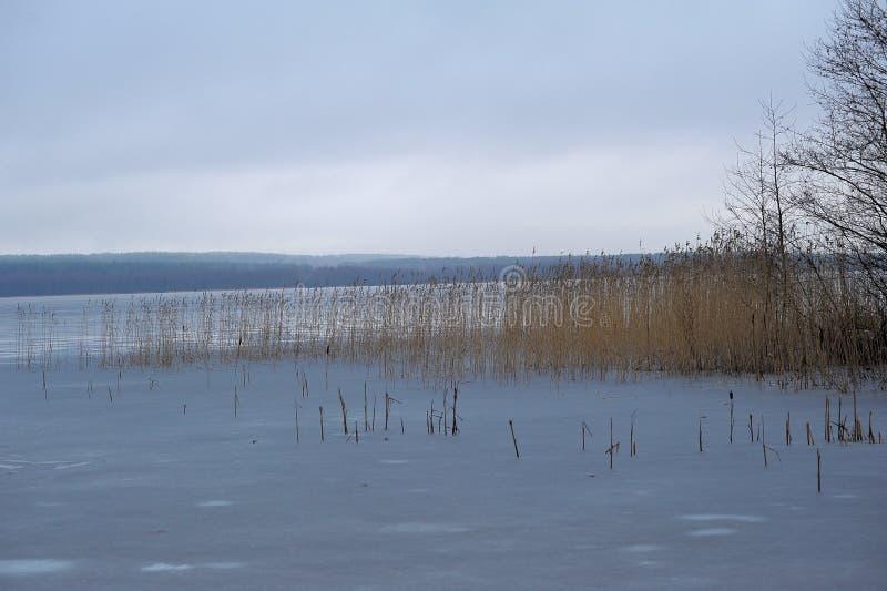 Download Τοπία λιμνών με το χιόνι στον πάγο Στοκ Εικόνα - εικόνα από μη, έδαφος: 22788249