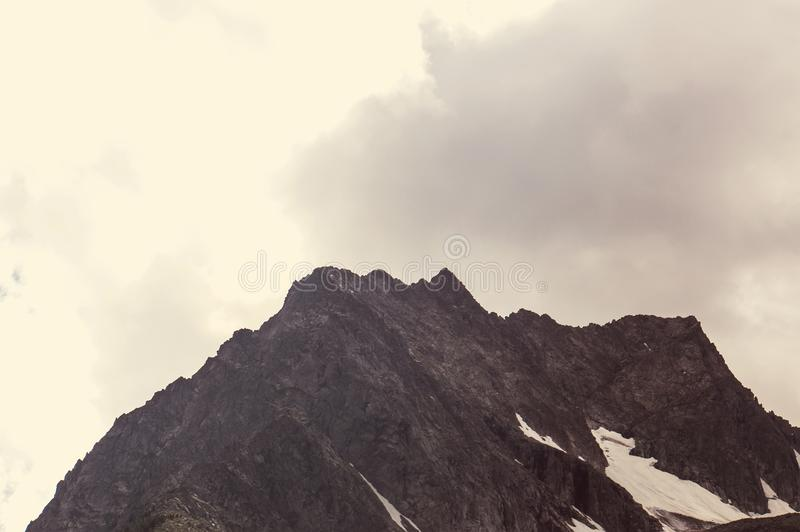 Τοπία στην εθνική οδό Denali albedo Φίλτρο Instagram στοκ φωτογραφίες με δικαίωμα ελεύθερης χρήσης