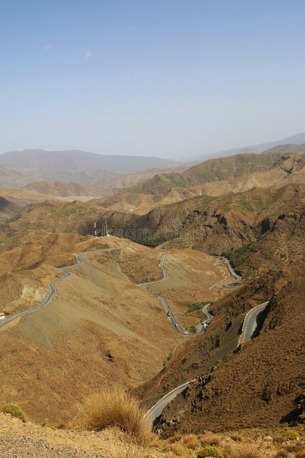 Τοπία φύσης του Μαρακές στο Μαρόκο, Αφρική Έρημος και βουνά Ταξίδι Μαρόκο wanderlust στοκ φωτογραφία