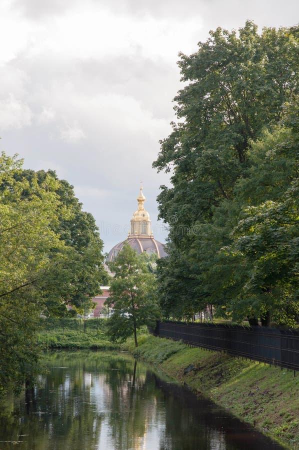 Τοπίο από τη Royal Palace στοκ φωτογραφίες με δικαίωμα ελεύθερης χρήσης
