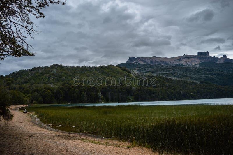 Τοπίο Αργεντινή, SAN Martin de Los Άνδεις στοκ εικόνες
