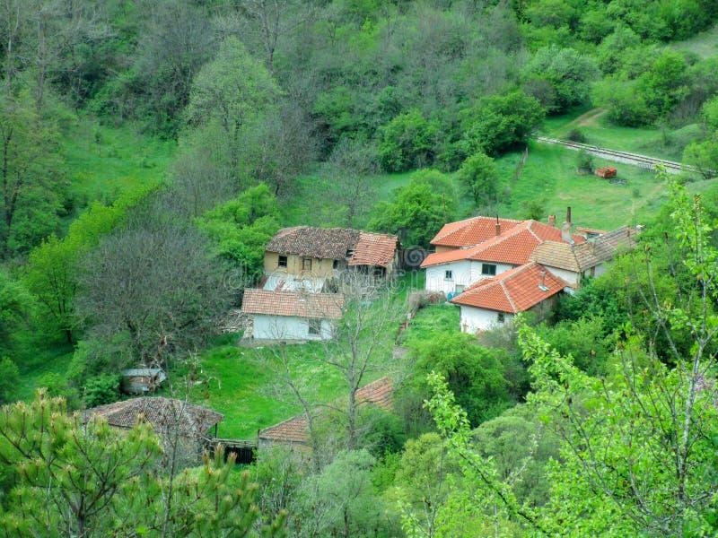 Τοπίο βουνών, Βουλγαρία στοκ εικόνες με δικαίωμα ελεύθερης χρήσης