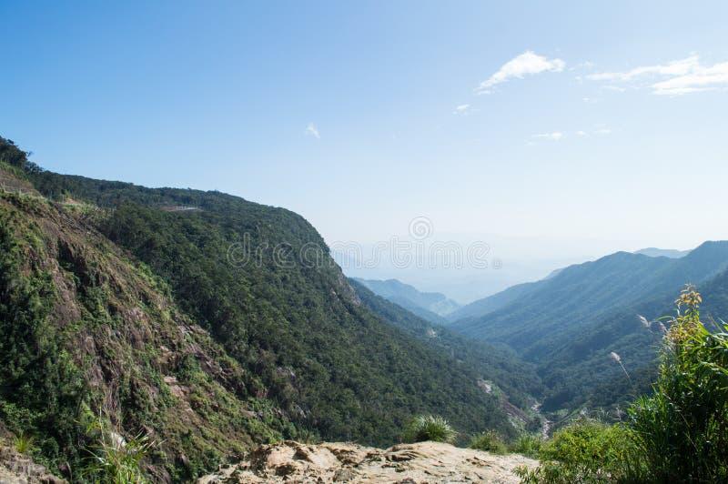 Τοπίο βουνών κοντά στη DA Lat, Βιετνάμ στοκ φωτογραφίες με δικαίωμα ελεύθερης χρήσης